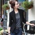 2017 Fashion Women's One Button Slim Casual Business Blazer Suit Jacket Coat Outwear S-XXXL