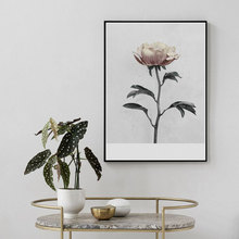 Flower Poster Scandinavian Canvas Painting Figure Painting Wall Picture Modern Nordic Art Print Home Decor No Frame