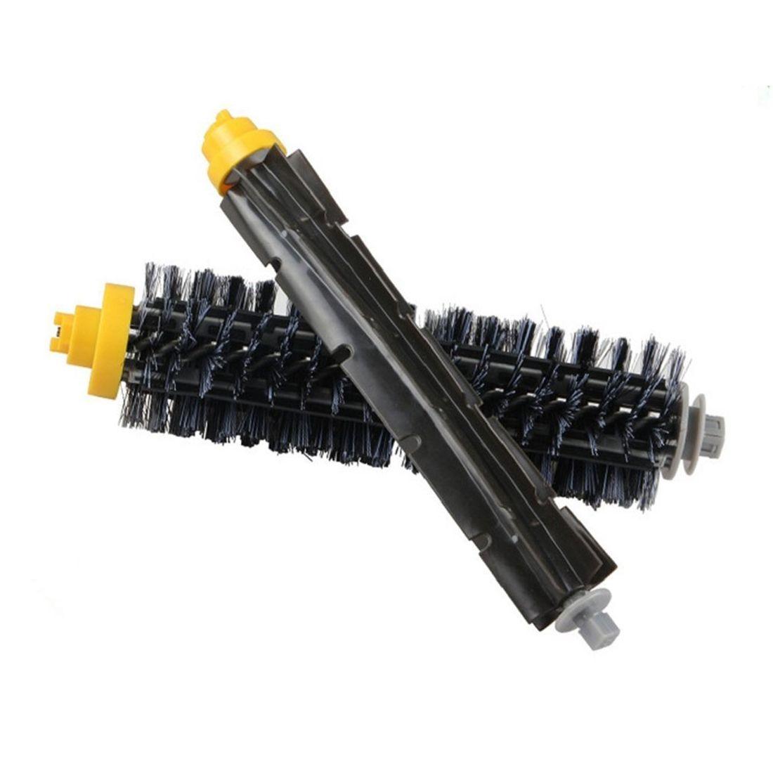 1pair Brush High Quality Parts for vacuum cleaner iRobot Roomba 600 630 650 700 Series 2017 new durable vacuum cleaner parts filter brush 6 piece tool kit for irobot roomba 600 series 620 630 650