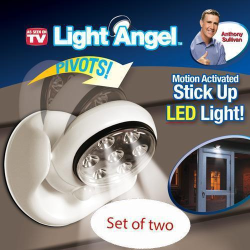 2sets  Lot Light Angel 4aaa Battery Operated Cordless