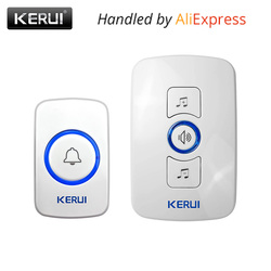 Kerui m525 wireless doorbell system 32 songs optional doorbell transmitter chime welcome security alarm system build.jpg 250x250