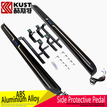 KUST High Quality Aluminium Alloy Material Side Pedal For Lexus For RX200t 2015 SUV Exterior Running Board For Rx 200t 2016