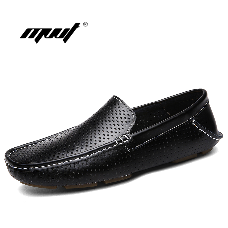 genuine leather men shoes Summer casual men flat shoes leather mocassin soft breathable men loafers fashion driving shoes аксессуар чехол 11 0 inch thule subterra для macbook air tsse2111