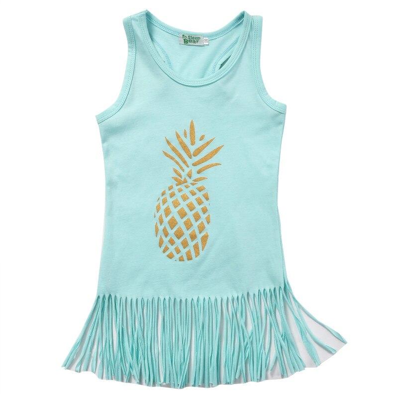 Pineapple-Toddler-Kids-Baby-Girl-Dress-Sleeveless-Party-Tassel-Dresst-Clothes-5