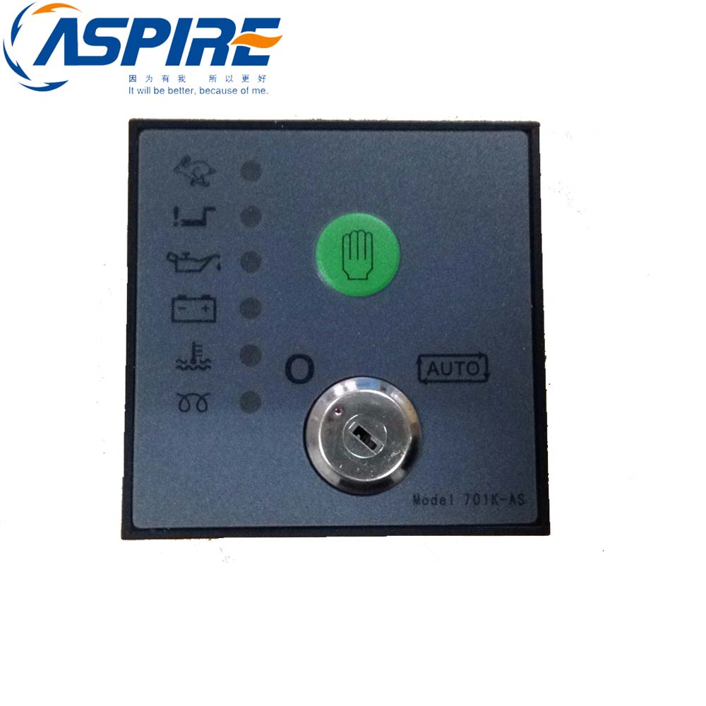 Replacement Controller 701AS Auto Start  Module Diesel Engine Electrical Control Panel dse702 as genset controller electronic auto start controller module generator