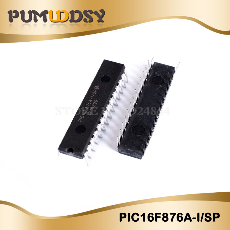 2pcs/lots Free Shipping PIC16F876A-I/SP PIC16F876A PIC16F876 16F876A-I/SP DIP-28 New Original IC In Stock!