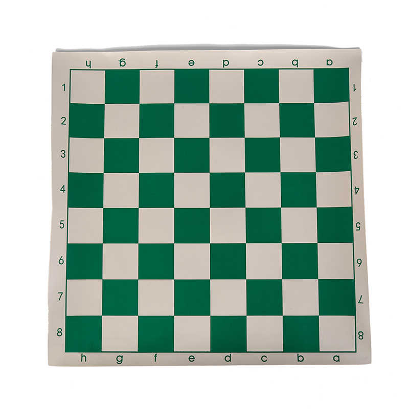34,5 см x 34,5 см Виниловая шахматная доска для детских обучающих игр случайный цвет магнитная доска для шахмат