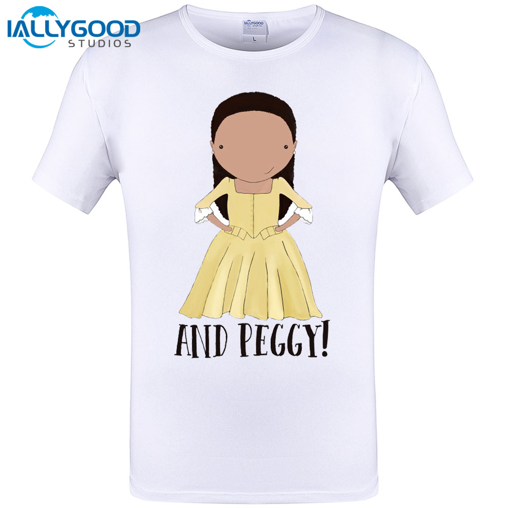 Design your own t-shirt hamilton - And Peggy Funny Hamilton Musical Alexander Hamilton T Shirt Unisex Summer Brand
