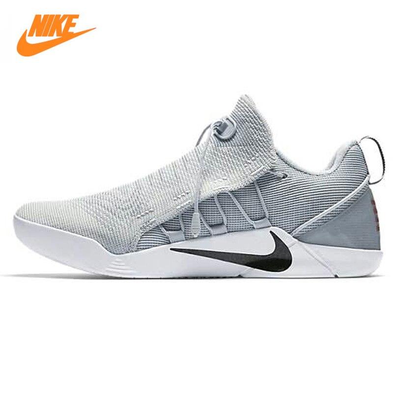 Nike Kobe AD NXT Hommes de Basket-Ball Chaussures, Gris clair, résistant à l'usure Respirant La Sueur absorbant Choc Absorbant 882049 002