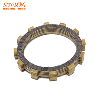 8PCS Motorcycle Clutch Friction Plates Set For YAMAHA FZ6R 2009 2010 2011 2012 2013 2014 2015
