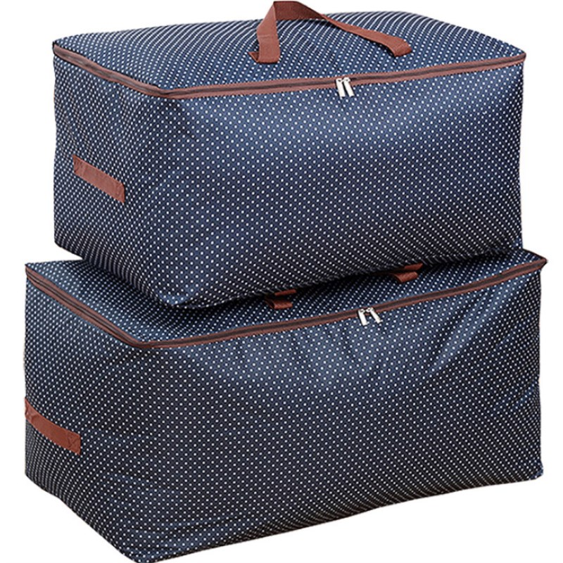 New Clothes Storage Bag Thickened Oxford Cloth Quilt Extra Large Clothing Finishing Soft Box