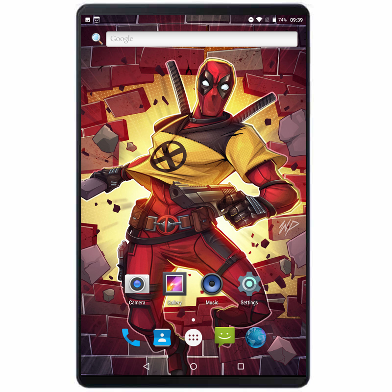 2019 High Quality 10 Inch Tablets PC Tempered 2.5D Glass Android 8.0 OS Octa Core 4GB RAM 64GB ROM 8 Cores WiFi 4G Network Pad