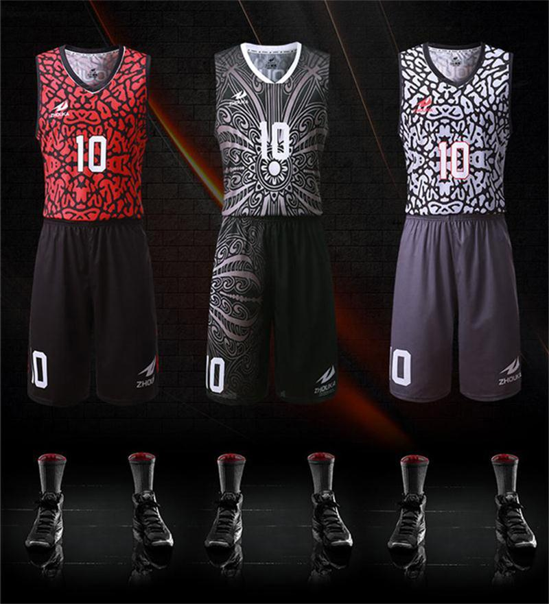 e9010c7c675f Custom practice basketball jerseys cheap reversible basketball uniforms  Sublimation printed personalized color and pattern shirt-in Basketball  Jerseys from ...
