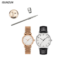 ISUNZUN Tissot T109 Watch Accessory Original Quality Stainless Steel Watch Crowns Watch Stems for Watch Repair Tool Kit Repair