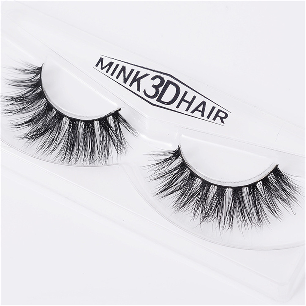 1 pairs Mink Lashes 3D Lashes Long Lasting Lashes Natural & Lightweight Mink Eyelashes A14