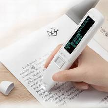 Английский, китайский и китайский сканирования пера портативный сканер распознавания текста на английском языке-китайско-японские ручка для переводов лучший инструмент изучение китайского языка