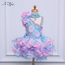 ADLN/Платья с цветочным узором для девочек на свадьбу; вечерние платья для малышей; пикантные Детские платья; Детские платья для выпускного вечера; вечерние платья