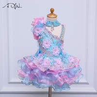 ADLN Little Flower Girls Dresses For Weddings Baby Party Sexy Children Images Dress Kids Prom Dresses