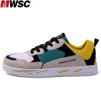 MWSC 2018 New Arrival Men Casual Spring Shoes Mixed Colors Breathable Mesh Inside Man S Fashion