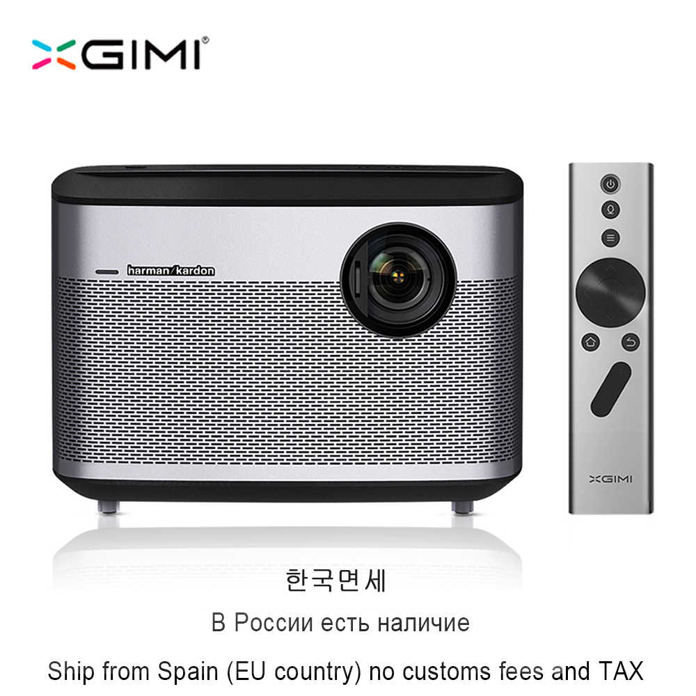 XGIMI H1 DLP проектор 1920x1080 Full HD 3D Поддержка 4 K Proyector Android 5,1 Bluetooth домашний кинотеатр Wi-Fi 300 дюймовый экран Beamer