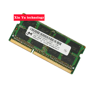 Lifetime warranty For Micron DDR3 4GB 1333MHz PC3 10600S DDR 3 4G notebook memory Laptop RAM Original 204PIN SODIMM