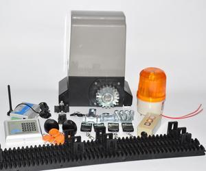 Image 1 - 1200kg 키트 세트 게이트 게이트 슬라이딩 슬라이드 자동 오프너 모터 6m 또는 7m 레일