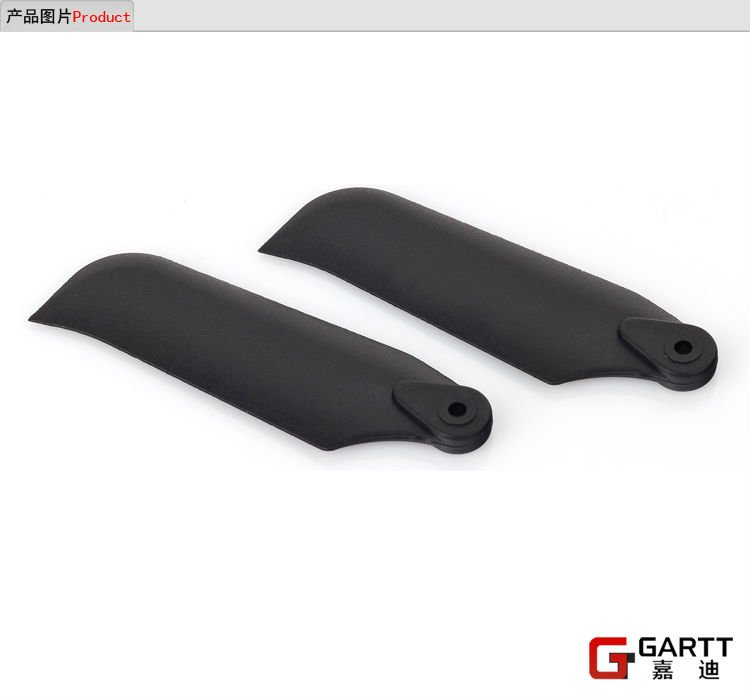 5 Pairs GARTT 500 Tail Blade fits Align Trex 500 RC Helicopter gartt 500 dfc main totor head assembly fits align trex 500 rc helicopter hobby