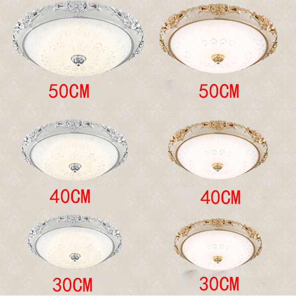 Led Ceiling Light Lamparas De Techo Bedroom Glass Cover Modern Brief Living Room Lights Balcony Lamp