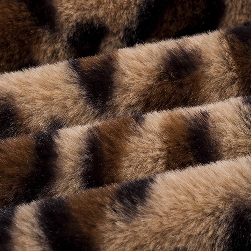 HTB1VKiDafvsK1Rjy0Fiq6zwtXXa3 Leopard Coats 2019 New Women Faux Fur Coat Luxury Winter Warm Plush Jacket Fashion artificial fur Women's outwear High Quality