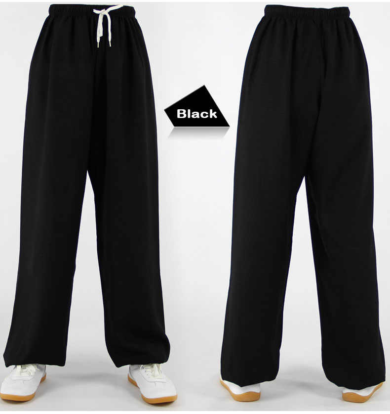 2f55a9c1c8c ... Classic Cotton Linen Harem pants Yoga Clothing Tai Chi Square Dance Yoga  Pants Kung Fu Running