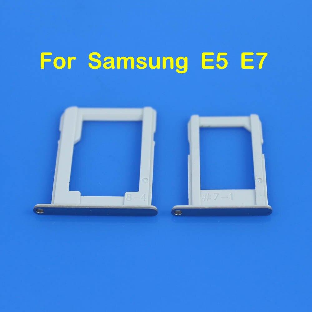 cltgxdd SIM Card micro SD Tray Slot Holder For Samsung Galaxy E5 E500 E7 E700