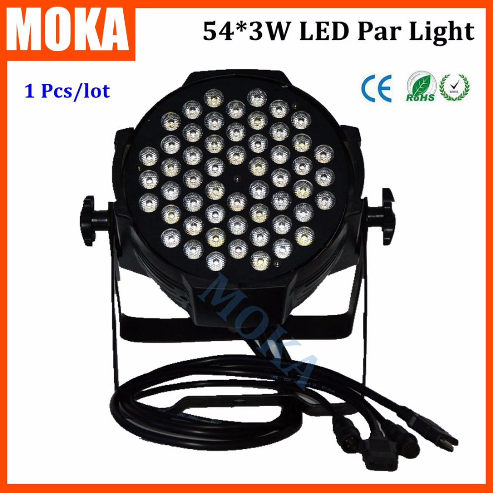 54*3W Led Par Light High Brightness DMX Professional Led Stage Lights For Disco DJ Club Party Stage Show
