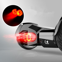 led light on top and side 8 inch smart balance scooter bluetooth speaker hoover board 2 wheels