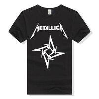 Metallica T Shirt Rock Band Tee Men Women T Shirt Cotton Tshirt Heavy Metal Rock N