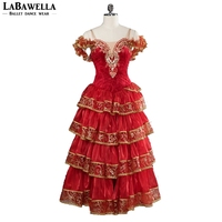 Spanish Matador Professional Dance Ballet Dress For Girls Women Matar Performance Competiton Stage Costume BT9103