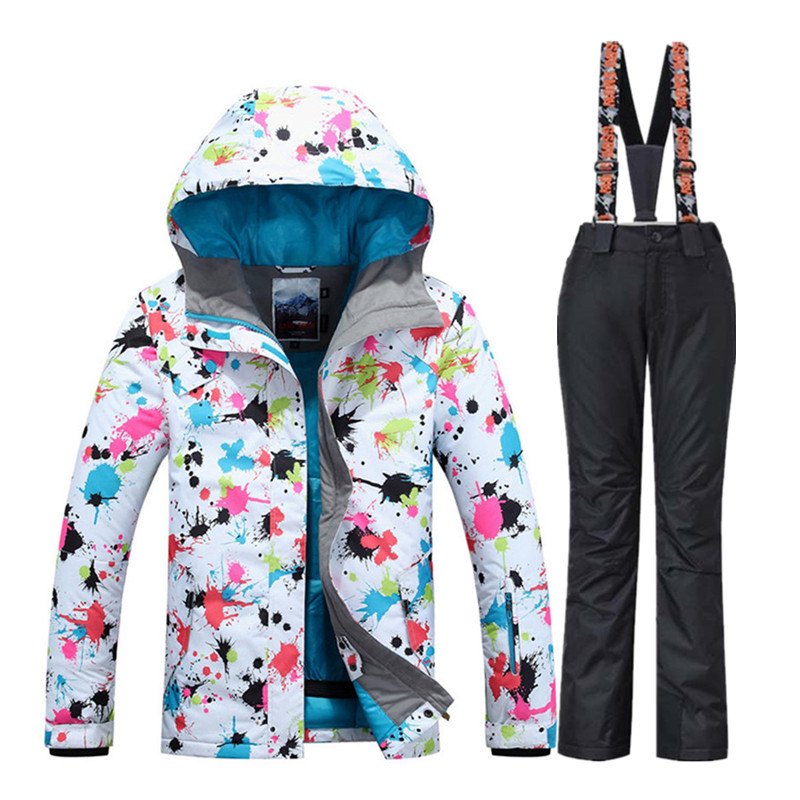 Skiing Suits Snowboarding Sets Men Jackets Pants Women Winter Sportswear Snow Ski Jacket Breathable Waterproof Waterproof WARM