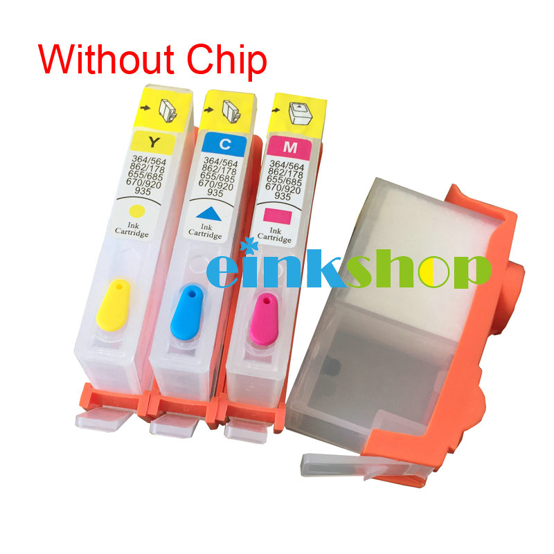 einkshop For <font><b>hp</b></font> <font><b>903</b></font> 904 905 <font><b>refillable</b></font> ink cartridge Without chip For <font><b>HP</b></font> OfficeJet 6950 6956 OfficeJet Pro 6960 6961 6964 6970 image