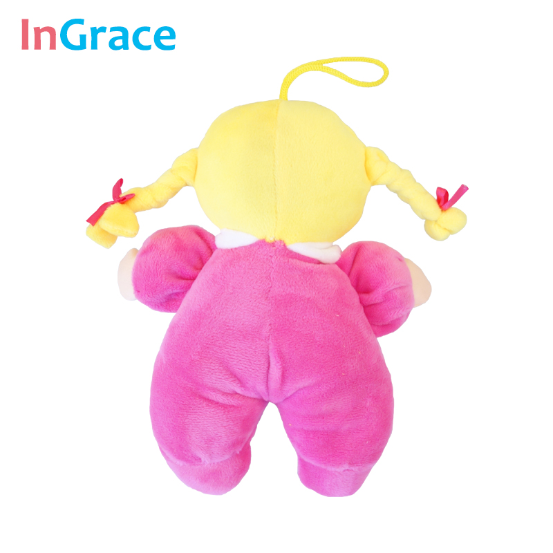 Ingrace fashion baby born doll 3 color soft Rattle toy stuff and baby - Anak patung dan aksesori - Foto 5