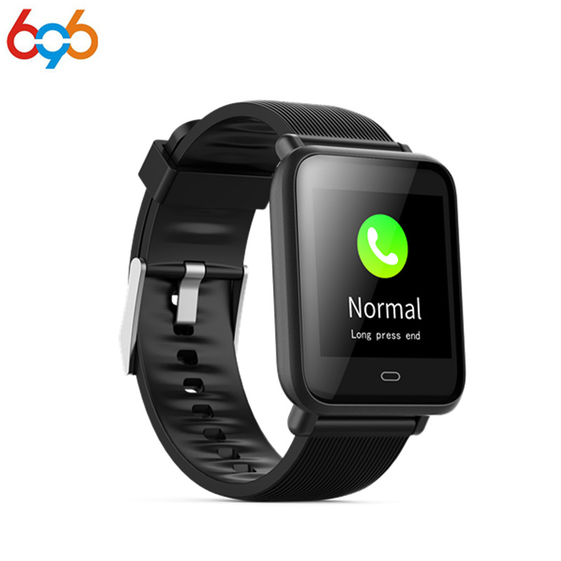 696 Smart Health Wearable Device Q9 Smartwatch for Android IOS Heart Rate Blood Pressure Monitor Fitness Activity Tracker Bracel meanit m5