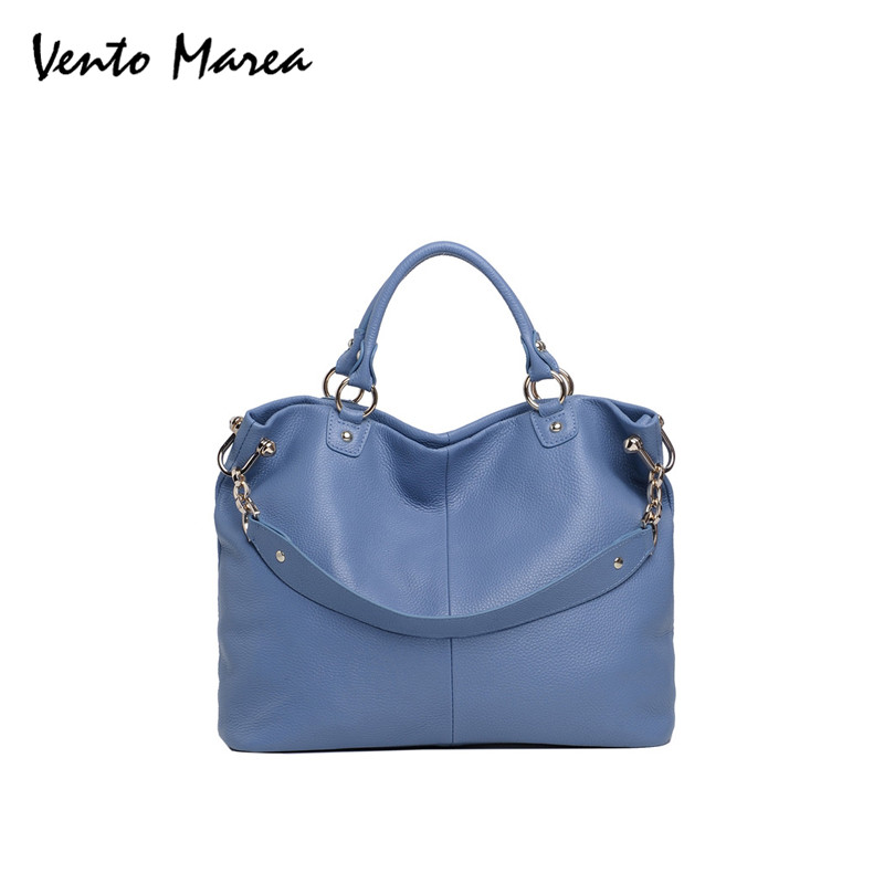 OL Lady Bag Women Blue Handbags Tote Bag New Brand Crossbody Bag Genuine Leather Designer Organizer Sac A Main Femme De Marque 2017 new arrival designer women leather handbags vintage saddle bag real genuine leather bag for women brand tote bag with rivet