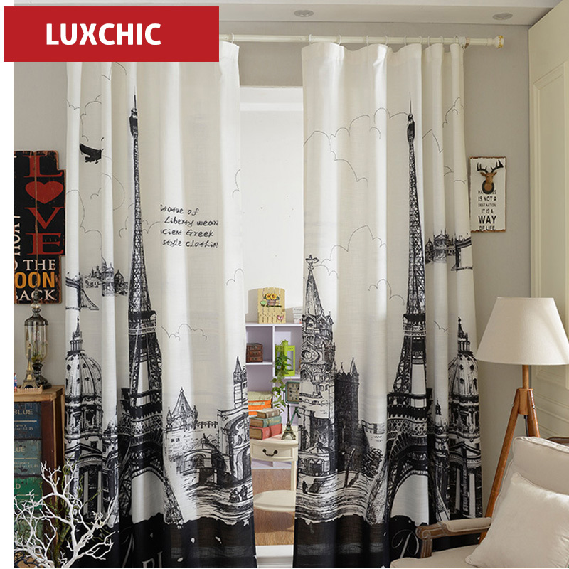 Curtains Room Divider Cotton Linen Door Curtains For