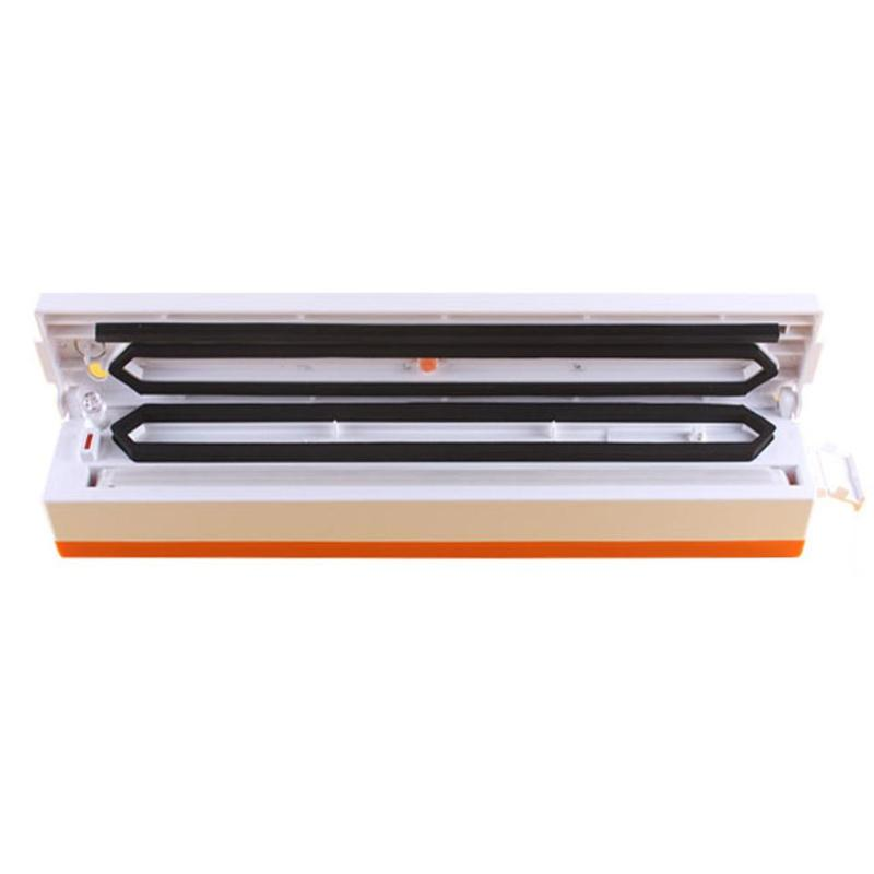 100W 220V Household Food Vacuum Sealer Packaging Machine Film Sealer Automatic Electric Vacuum Packer for All Size Vacuum Bag