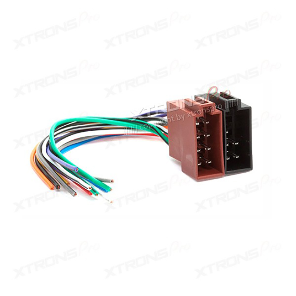 Universal Car Female ISO Radio Wiring Harness Wire Cable Auto Stereo Adapter Connector Adaptor Plug aliexpress com buy universal car female iso radio wiring harness Trailer Wiring Harness Adapter at soozxer.org