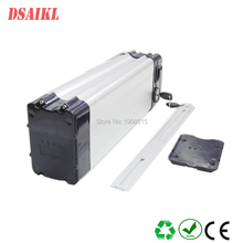 EU US no tax 500W Electric Bike battery pack 36V 20Ah top discharge Silver fish battery with c 42V 3A charger us eu free tax 36v li ion battery use ncr ga cell 36v 10 5ah electric bike water bottle battery with charger usb bottle holder