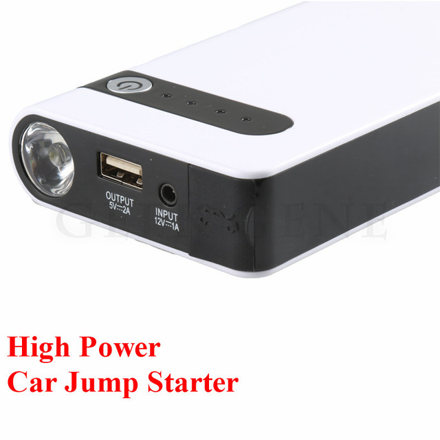 2017 Professional 12V Petrol Diesel Car 12000mAh Jump Starter Multi-Function 400A Peak Car Starter Power Bank SOS Light FreeShip