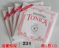 Free Shipping Pirastro tonica New Formula violin nylon string