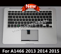 Brand New US Topcase for Macbook Air 13.3 '' A1466 Palmrest Topcase With US keyboard and Backlit No Touchpad 2013 2014 2015