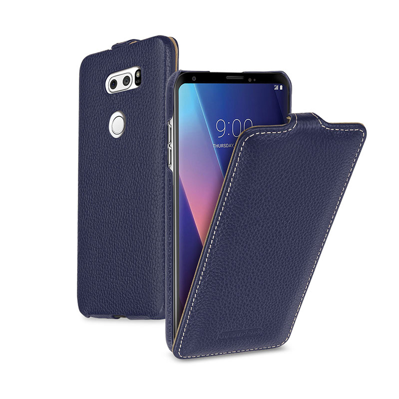 Business Genuine Leather Cases For LG V30 Case Flip Cover For LG G6 G5 Coque Phone