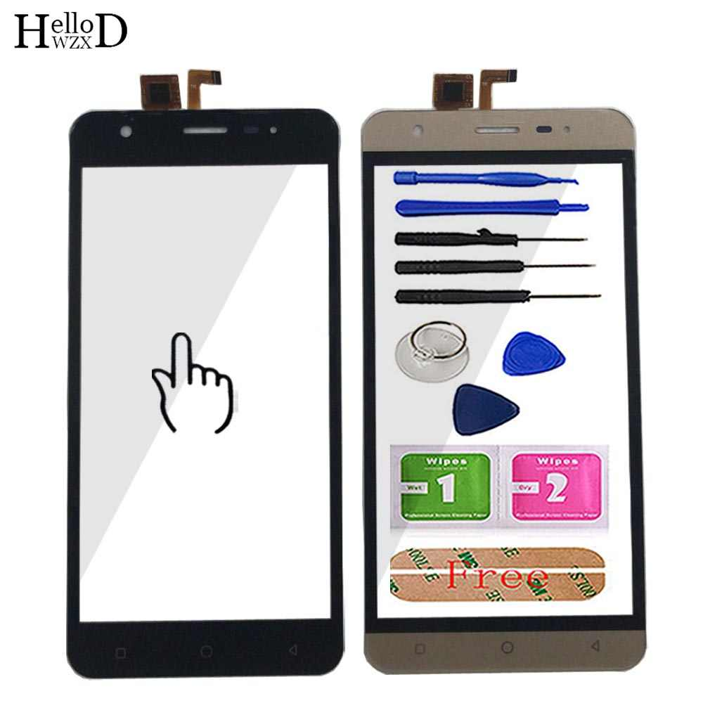 5'' Mobile Touch Screen Panel For Vertex Impress Eagle 3G Front Glass Digitizer Touch Panel Touchscreen Sensor Glass Tools