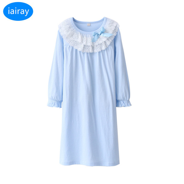 Aliexpress.com : Buy iairay autumn 2018 children pajamas for girls ...